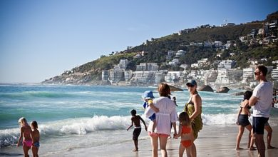 EFF Joins Clifton Fourth Beach Protests In Cape Town Against Racism