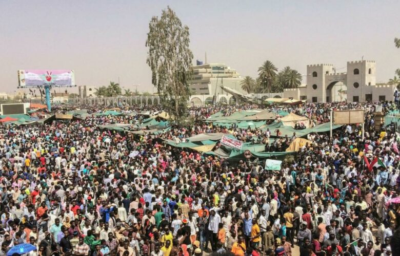 Sudanese Gather On Streets To Demand Dissolving Of Military-Civilian Coalition