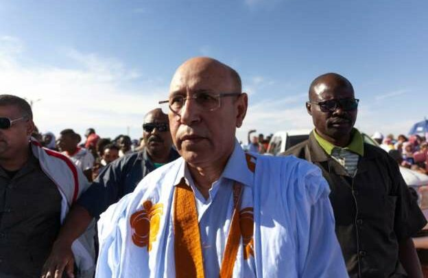 Mohammed Ould Ghazouni Sworn In As New Mauritania President