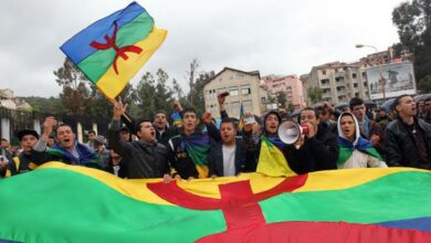 Algeria Court Jails 21 Protesters For Waving Berber Flags During Protests