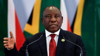 South African President Ramaphosa Says Fighting COVID-19 IS ANC's Top Priority For 2021