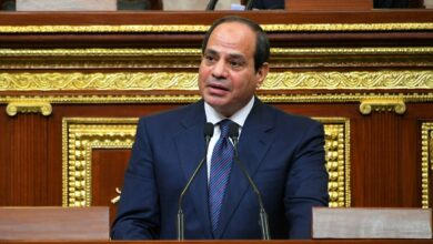 Egypt's President Says Cairo Will Not Stand Idle To Threat To Egyptian & Libyan Security