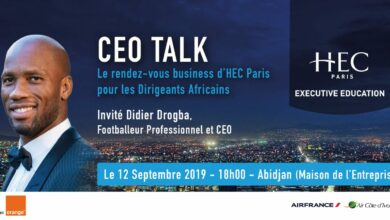 HEC Paris's CEO Talk Gets Footballer Turned Entrepreneur Didier Drogba As Guest Speaker