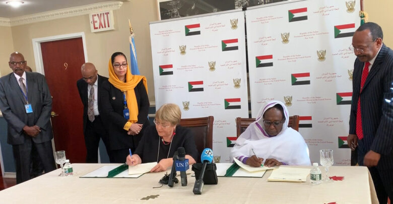 UN High Commissioner Signs Agreement To Open UN Human Rights Office In Sudan