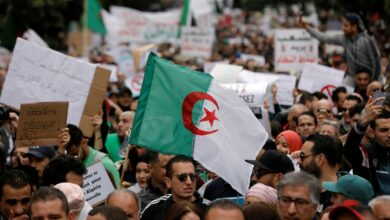 Algeria: Protesters March On Streets To Mark One Of Anti Government Protests