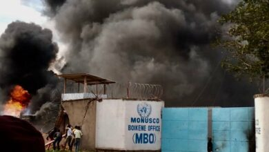 DRC: Protesters Set Fire Beni Town Hall, UN Military Base After Military Massacre