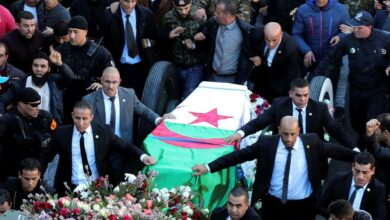 Algerians Turn Out In Large Numbers To Mourn Powerful Army Chief Ahmed Gaid Salah