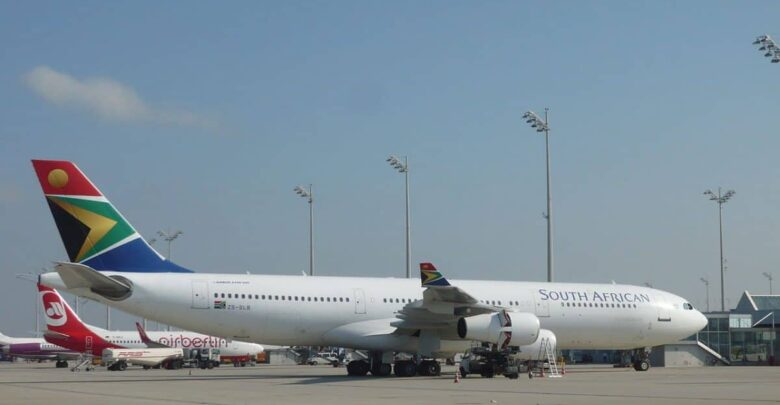 South African Airways Scraps Local, Foreign Flights As Part Of Rescue Efforts