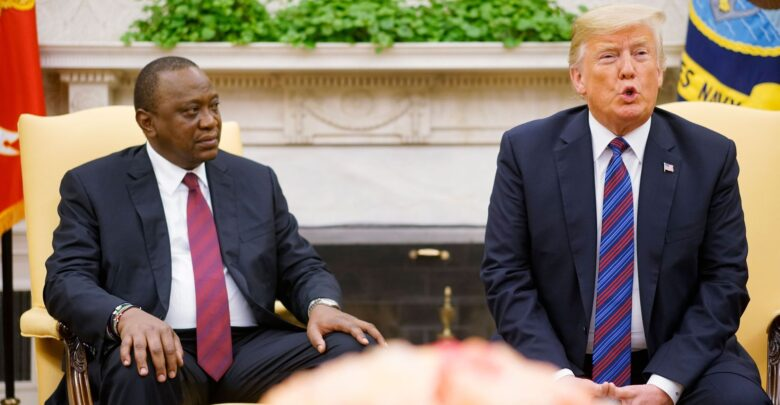Kenya, U.S. Agree To Begin Negotiation Talks To Pave Way For A Trade Deal