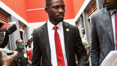 """A Ugandan court on Monday ordered government authorities to end the house arrest of presidential election runner-up Bobi Wine. Wine, whose real name is Robert Kyagulani, has been kept under house arrest at his home outside the capital, Kampala, Wine, since January 14, when Ugandans voted in an election in which he was declared runner up to President Yoweri Museveni. Ever since his arrest, heavily-armed security personnel have been deployed outside Wine's house. His family including his wife, Barbie, is also not allowed to leave the compound. The court ruled that Wine's effective house arrest was not in accordance with the law and that if the government wants him detained it should charge him with a crime. """"The continued indefinite restriction and confinement of the applicant to his home is unlawful and his right to liberty has been infringed,"""" Justice Michael Elubu said in his verdict at the court's Civil Division in Kampala. """"Having found that the restrictions are unlawful it is hereby ordered that they are lifted."""" According to election officials, President Museveni got re-elected to a sixth term, winning 58% of the vote, while Wine came second securing 35% of the vote. Wine has rejected the voting result, alleging fraud which the government denies. Last week, he said might not go to court to challenge the official results because of concerns a possible loss there would validate Museveni's win. He is expected to announce a decision soon. The long-serving incumbent President Museveni has dismissed allegations of vote-rigging and fraud. He described the election as """"the most cheating-free"""" election since independence from Britain in 1962. Uganda's Electoral Commission said the vote was peaceful, but the United Nations, European Union and several rights groups have raised concerns. The African Union mission was the only major international group to monitor the vote."""