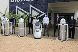 Rwanda's Health Ministry Gets 3 UV-C Light Robots To Fight Spread Of COVID-19