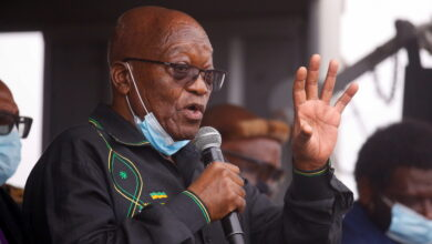 Former South African President Zuma Refuses To Surrender Before Police