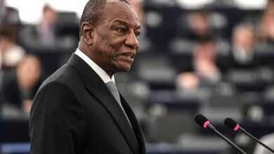 ECOWAS Delegation Assures Ousted Guinean President Alpha Conde Is In Good Health