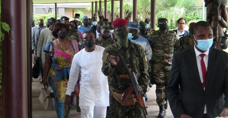 Guinea's Military Junta Bars Its Members From Contesting In Next Elections